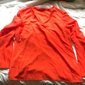 BANANA REPUBLIC - bell sleeve blouse